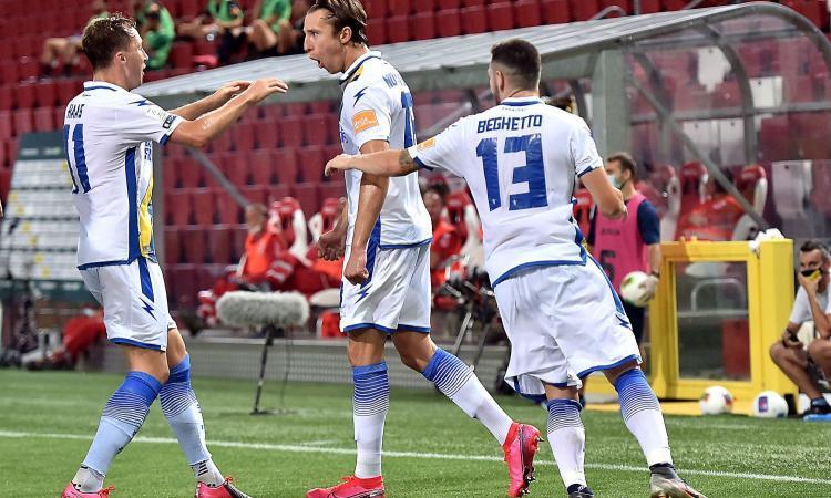 Nesta lo ha fatto di nuovo, il Frosinone ribalta il Pordenone: 2-0, sarà finale playoff con lo Spezia!