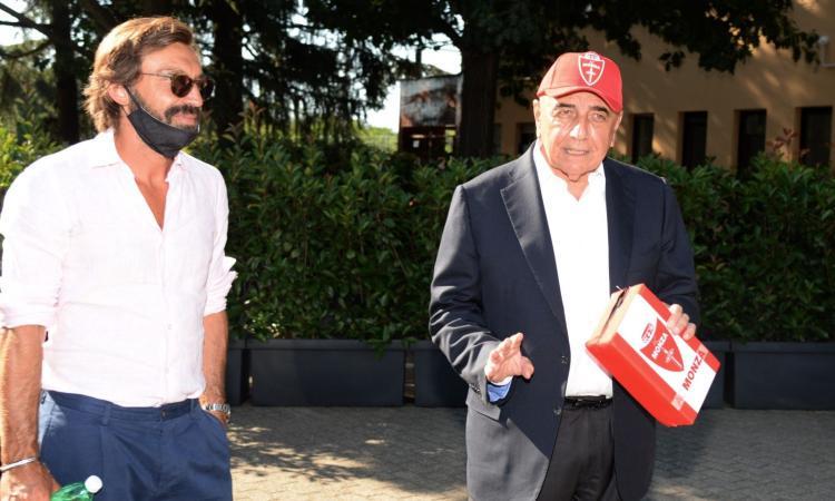 Milan, l'ex Galliani: 'Abbiamo lasciato andare Pirlo troppo presto, ma i rimpianti sono altri'