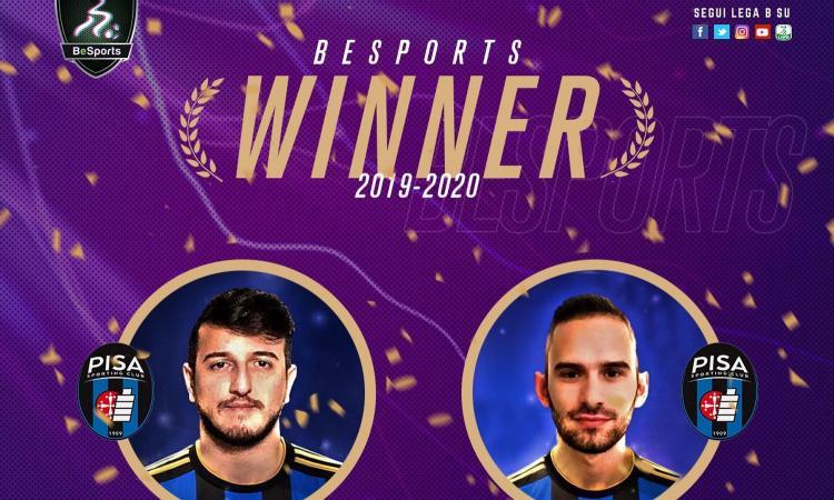 BeSports: va al Pisa il primo campionato PES della Serie B, battuti Benevento e Cosenza
