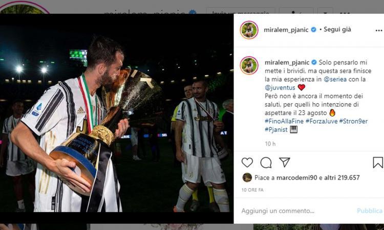Juve, Pjanic crede alla Champions: 'Non è ancora il momento dei saluti, aspettiamo la finale'
