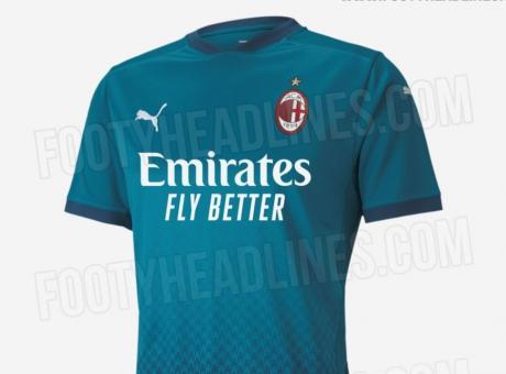 Milan, ecco la terza maglia 2020/21: sarà blu come nel '95 FOTO ...