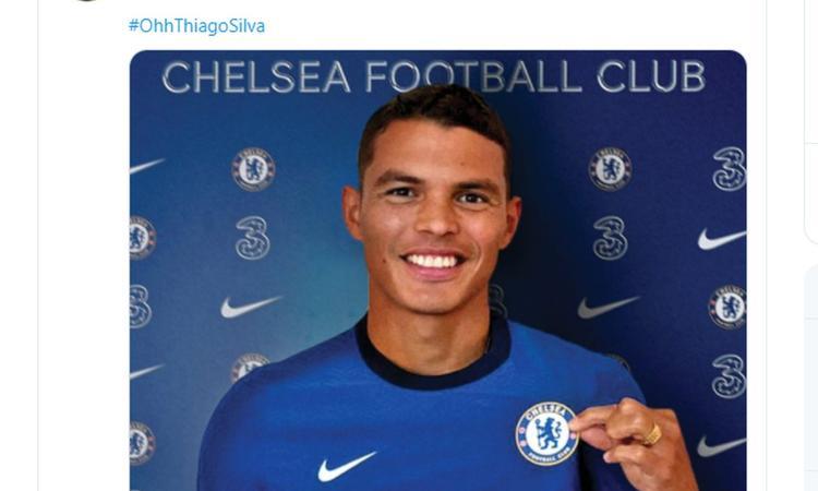 Fiorentina, senti Thiago Silva: 'Ecco perché ho scelto il Chelsea'