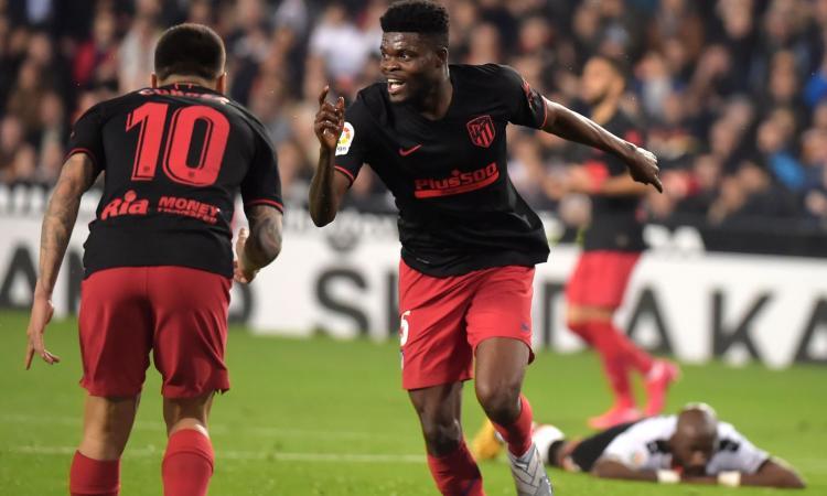 Juve, idea Thomas Partey: l'Atletico non fa sconti, gli scambi per convincere Simeone
