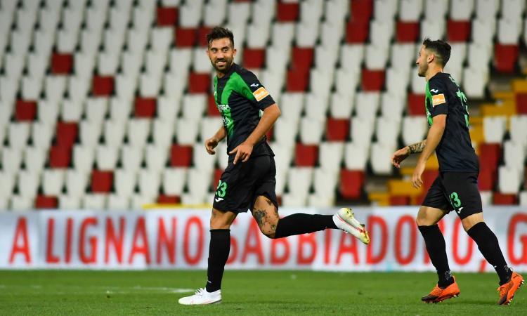 Serie B, semifinale andata playoff: Bardi non basta, Tremolada è super, Frosinone-Pordenone 0-1