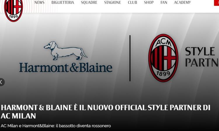 Milan, UFFICIALE il nuovo style partner