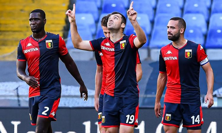 Genoa-Crotone 4-1: il tabellino
