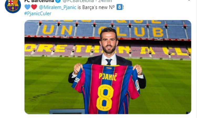 Barcellona, ecco Pjanic: 'Per me è un sogno, avevo bisogno di nuove sfide. L'addio alla Juve e Suarez...' VIDEO
