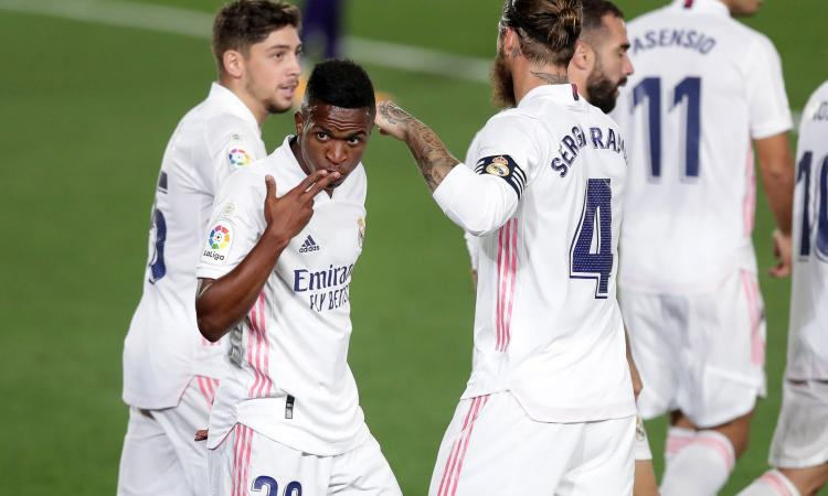 Inter, guarda che Real Madrid in allenamento VIDEO
