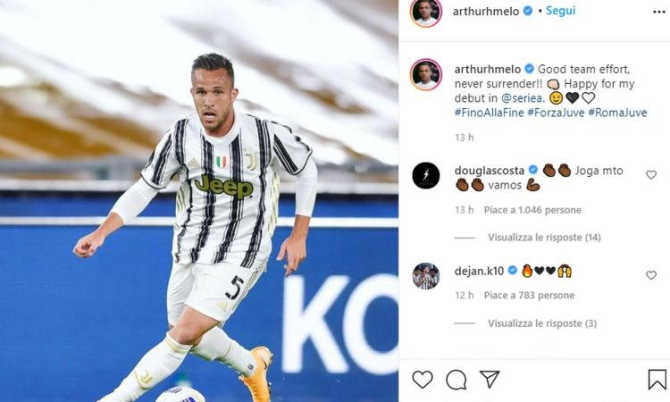 Juve, finalmente Arthur: Pirlo è pronto a dargli la maglia da titolare