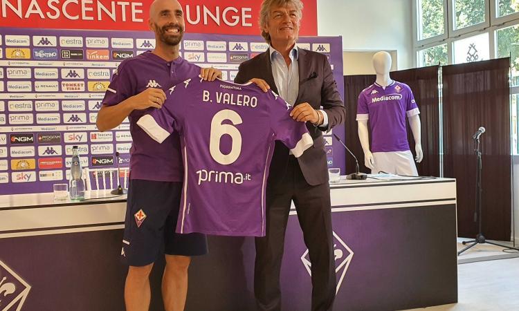 Fiorentina, Borja Valero: 'Ora sto bene, ho recuperato. Prandelli? Vuole terminare un percorso'