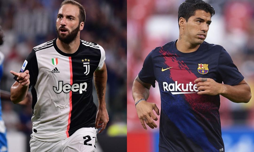Suarez, Dzeko, Higuain: un occhio alle statistiche