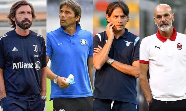 Serie A, la griglia di partenza del 2020-21: Inter e Juve davanti a tutti, Milan più di Atalanta, Napoli e Roma