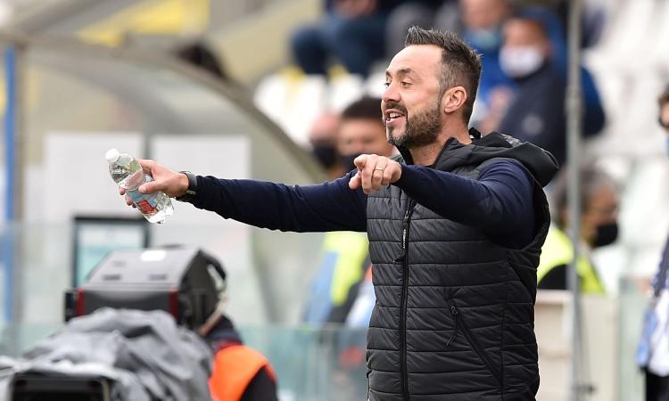 Sassuolo, De Zerbi: 'Moriremo con il gioco. Defrel out con il Bologna'