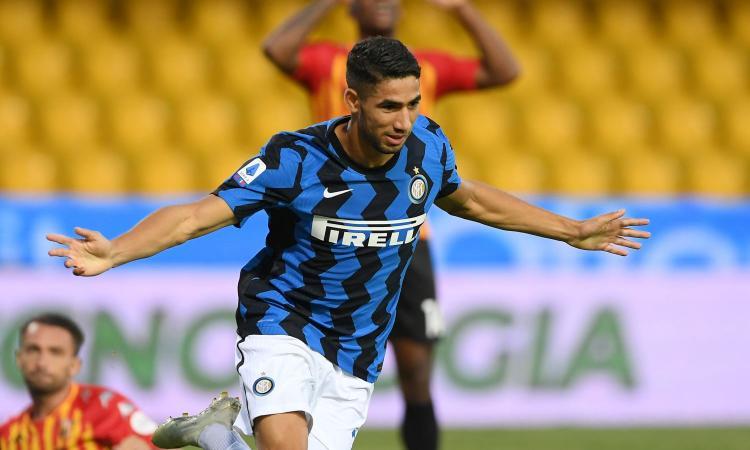 Hakimi: 'Un onore essere in un club leggendario come l'Inter. Conte importante nella mia scelta'
