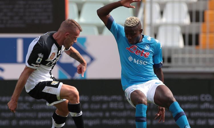 Il fratello di Osimhen: 'A Napoli per vincere lo scudetto'