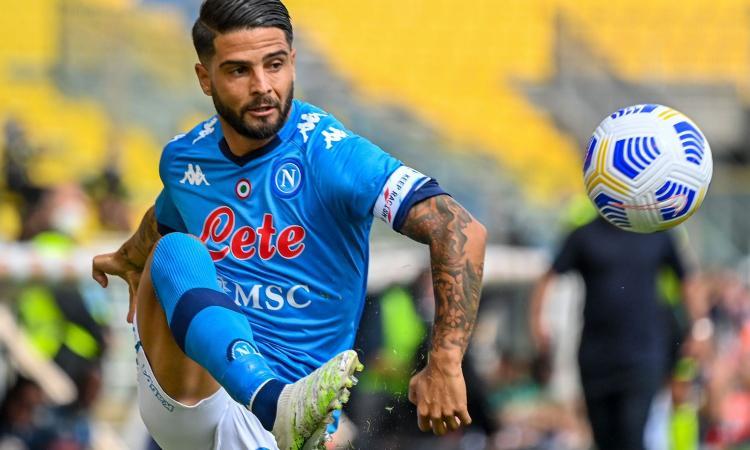 Napoli subito al lavoro per l'Europa League: Insigne in parte con il gruppo