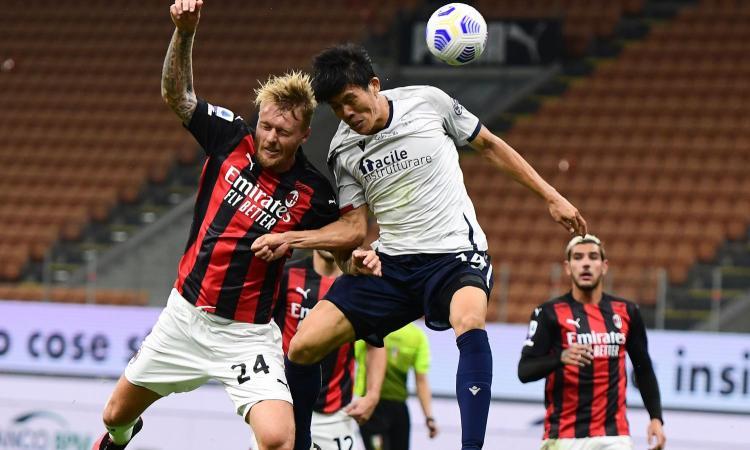 Il Milan cerca un nuovo partner a Romagnoli, ma questo Kjaer è insostituibile