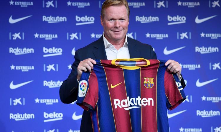 Barcellona, Koeman si rassegna: 'Mercato? La rosa resterà questa. Messi? La disputa era col club non con me'