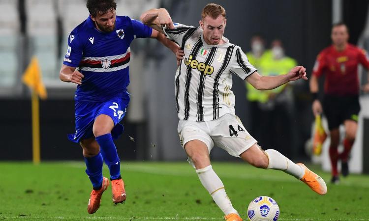 Juve-Sampdoria, le pagelle di CM: meraviglia Kulusevski, McKennie è ovunque. Male Bereszynski