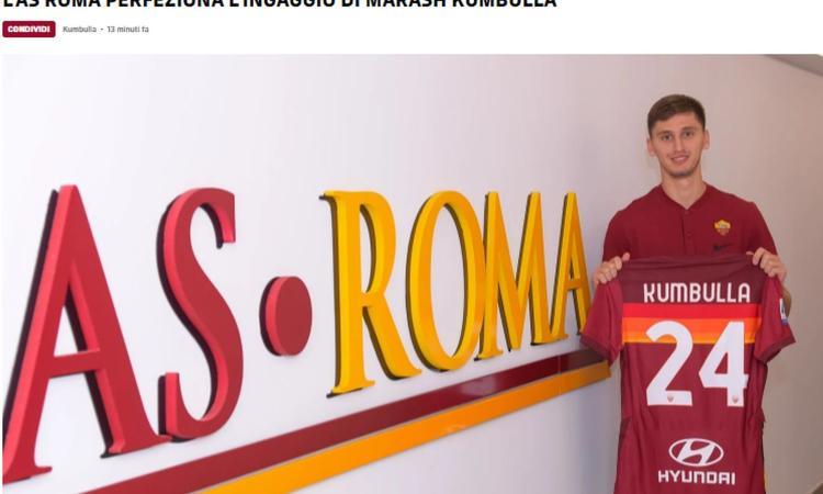 Roma, UFFICIALE Kumbulla: tutte le cifre e i dettagli dell'affare