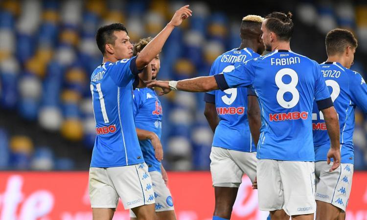 Napoli, ospite 'speciale' oggi nel match contro l'Atalanta