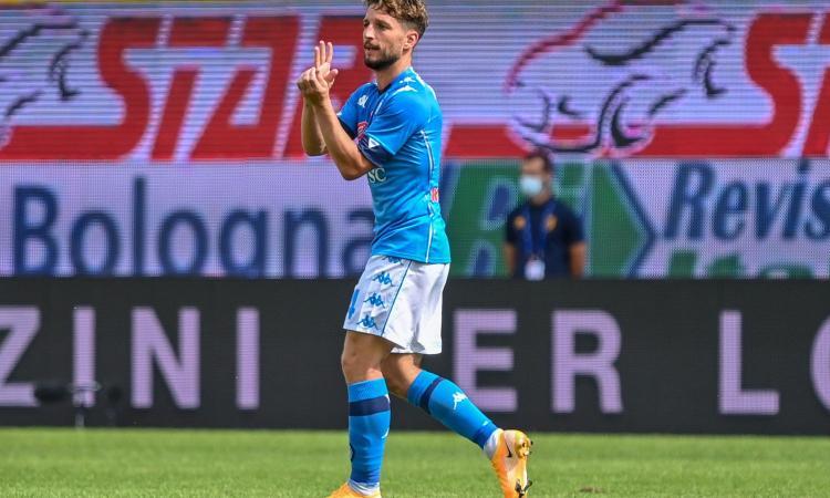 Napoli, infortunio superato per Mertens: Gattuso può lanciarlo dal 1' contro il Granada