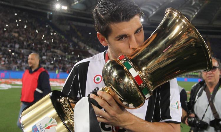 Juve, Morata eguagliò il record di Del Piero in Champions