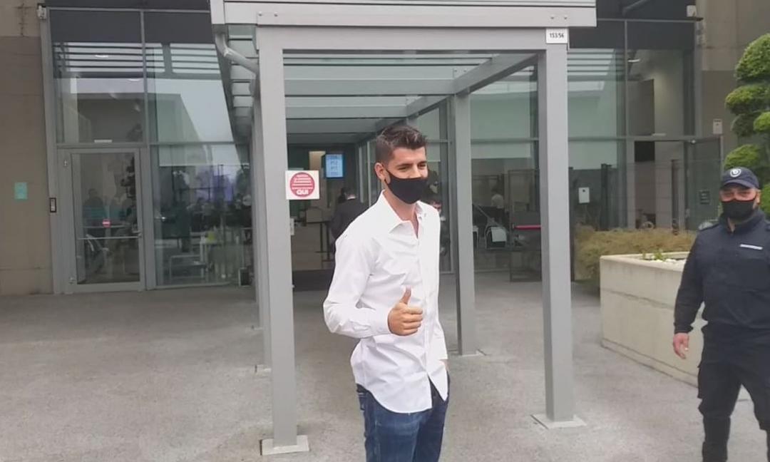Morata alla Juve: ufficiale il ritorno dello spagnolo