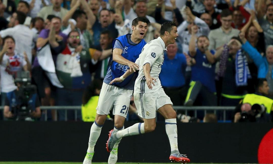 Morata-Ronaldo: le statistiche in coppia