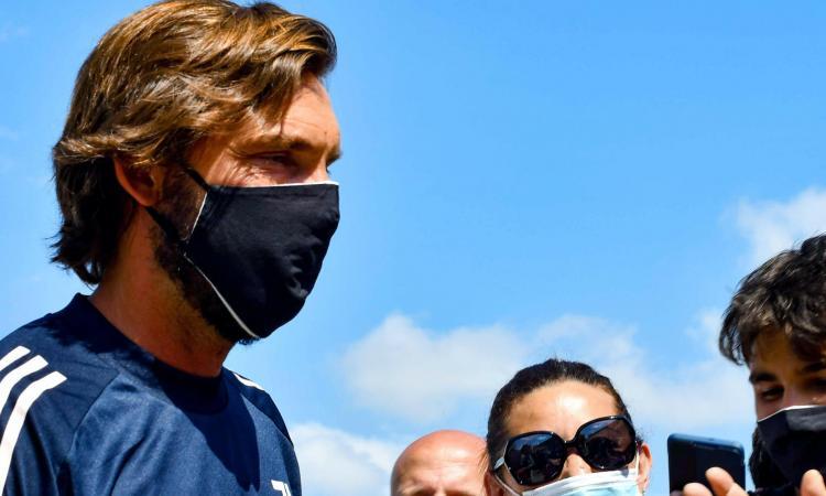 Dal Milan di Ancelotti alla Juve di Conte, dall'attaccante alla Dzeko al 2-3-5: ecco la tesi di Pirlo