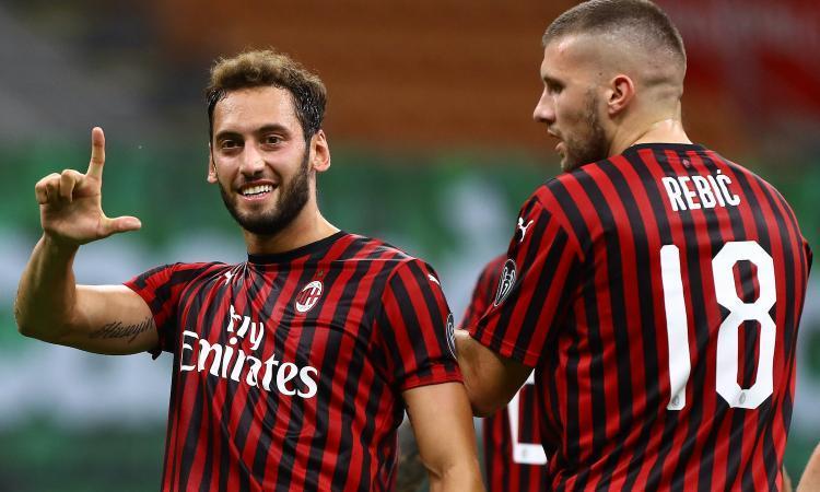 Milan, il punto sugli infortunati: per Rebic e Calhanoglu situazioni  all'opposto | Serie A | Calciomercato.com