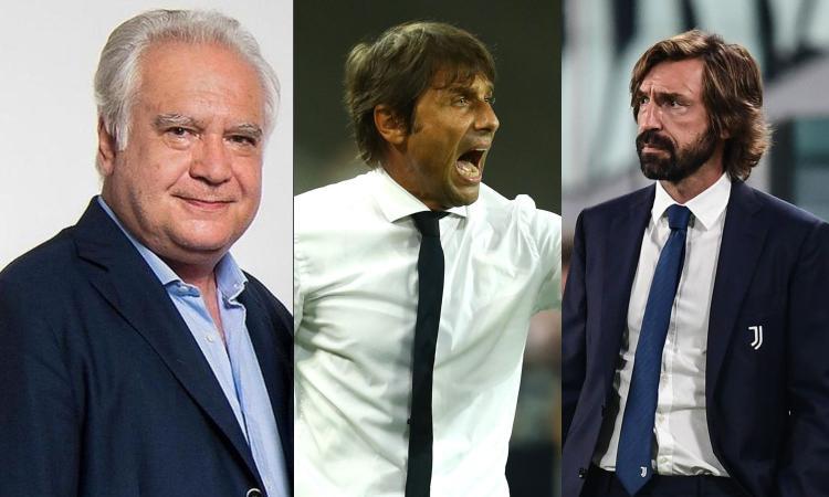 Un cappuccino con Sconcerti: Conte esaspera, Pirlo non dice. Ora Inter e Juve sono alla pari