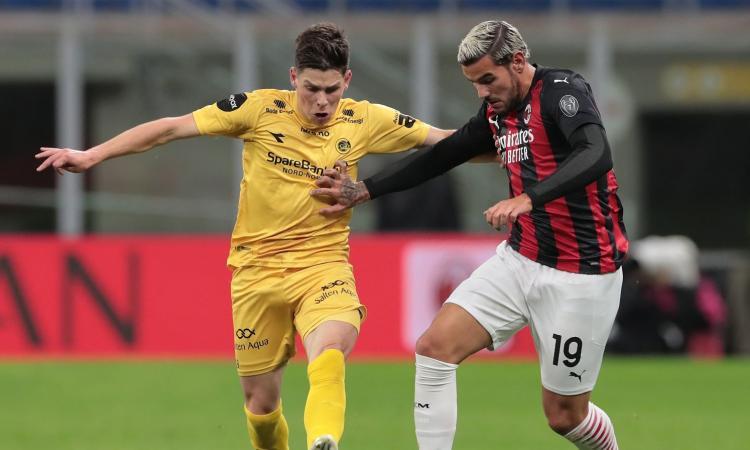 Milan-Bodo/Glimt, rivivi la MOVIOLA: Theo Hernandez chiede un rigore, annullato gol a Maldini