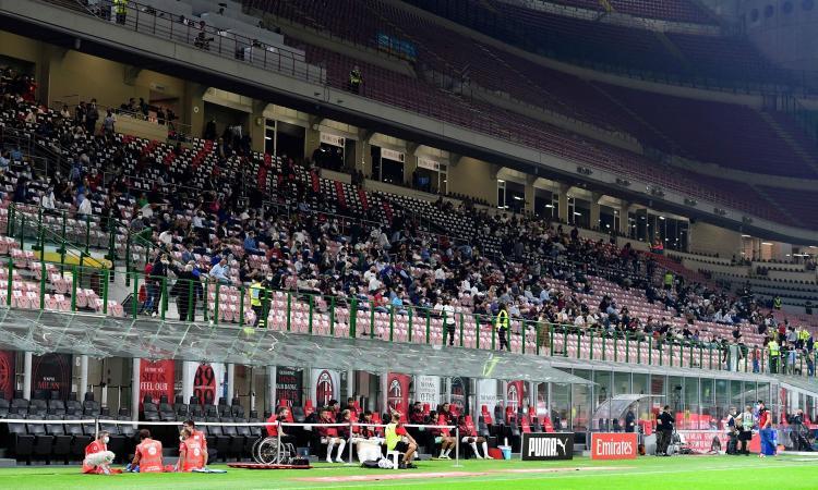 Covid, il Cts: 'Tifosi allo stadio al 75%, nei palazzetti al 50%'