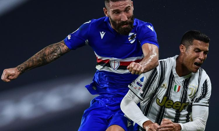 Sampdoria, Tonelli in dubbio: confermata la coppia del Picco?