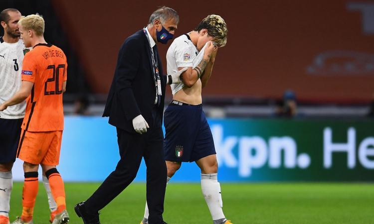 Zaniolo, niente Europei: 'Mi rifarò ai Mondiali'. Le parole di Mancini