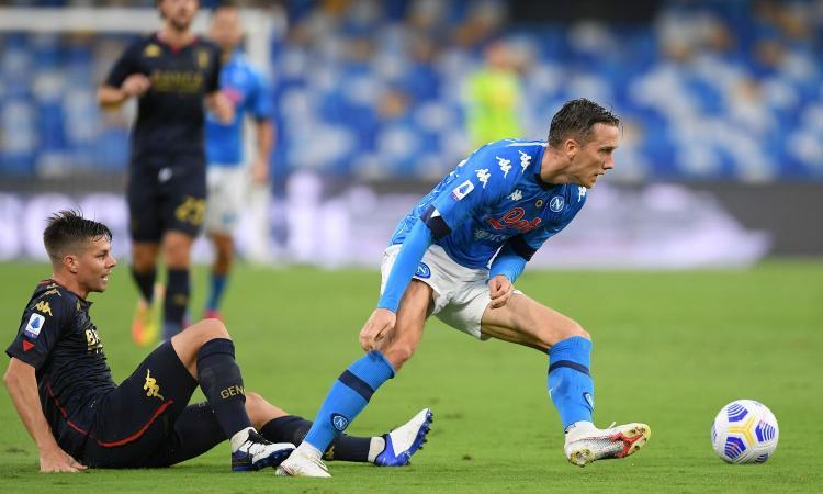 Napoli, UFFICIALE: Zielinski negativo al Covid, nuovo tampone per lui e i nazionali italiani