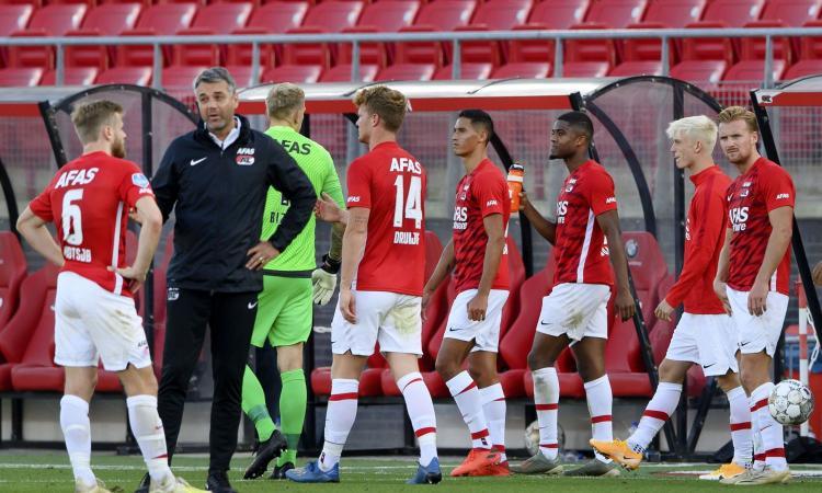 Az Alkmaar, UFFICIALE: 13 casi di Covid: 'Uefa conferma la gara a Napoli, solo le autorità locali possono proibirla'