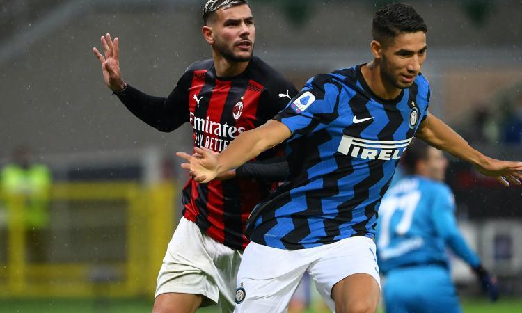 Inter e Milan ringraziano il Real: con Hakimi e Theo il derby si incendia