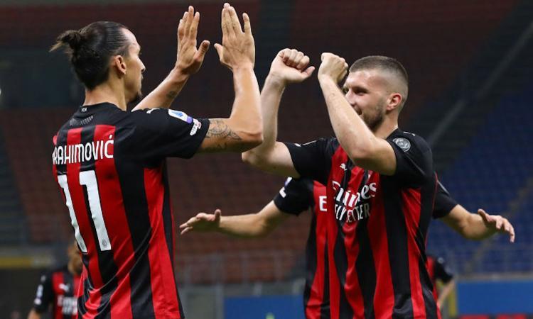 Milan, è rebus punta verso il derby: Ibra ancora positivo, fiducia per Rebic