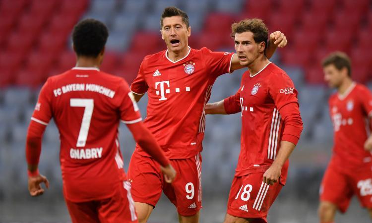 Bundesliga: Bayern, 4-3 su rigore al 94', poker di uno strepitoso Lewandowski VIDEO