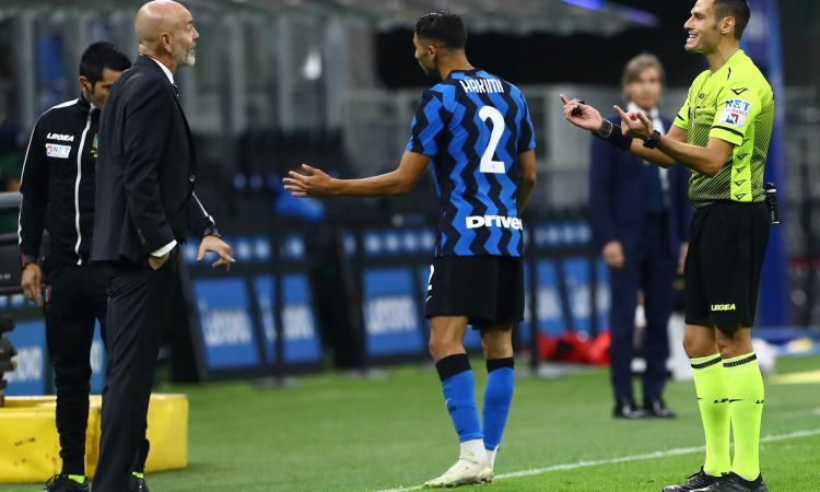 Inter-Milan, la MOVIOLA: manca un rosso a Kessie. Mariani e il Var tolgono un rigore a Lukaku