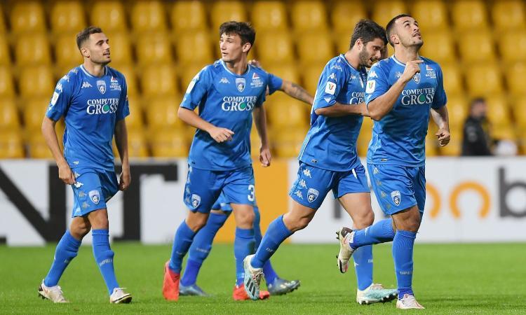 Reggiana-Empoli 0-1: il tabellino