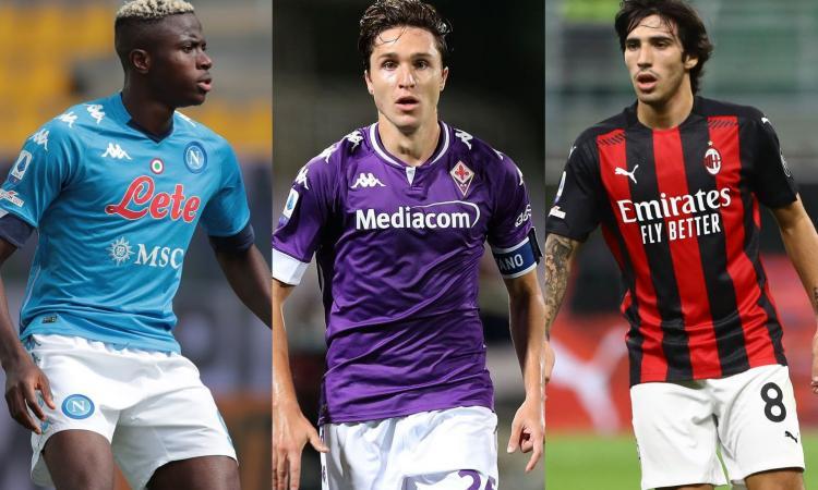 Le pagelle del mercato: Napoli da 8, bene il Milan. Juve e Inter, colpi e lacune: 7. Roma super, tante bocciate