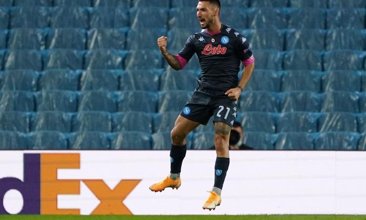Napoli, la probabile formazione: confermato il 4-2-3-1 contro il Milan, per Politano ruolo inedito