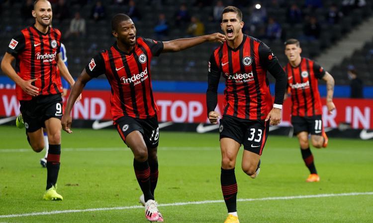 Bundesliga: Colonia-Eintracht 1-1, segna Andrè Silva. Schalke-Union Berlino 1-1