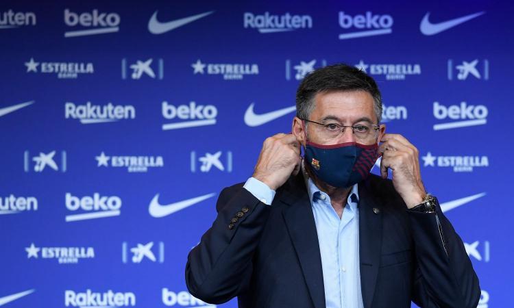 Barcellona, Bartomeu: 'Non mi dimetto. Messi? Interessi del club in primo piano. Sull'audio Var del Clasico...'