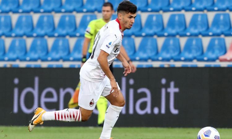 Brahim: 'Milan, non ci ho pensato due volte. Se arriviamo in Champions mi tingo i capelli di rossonero con Theo!'