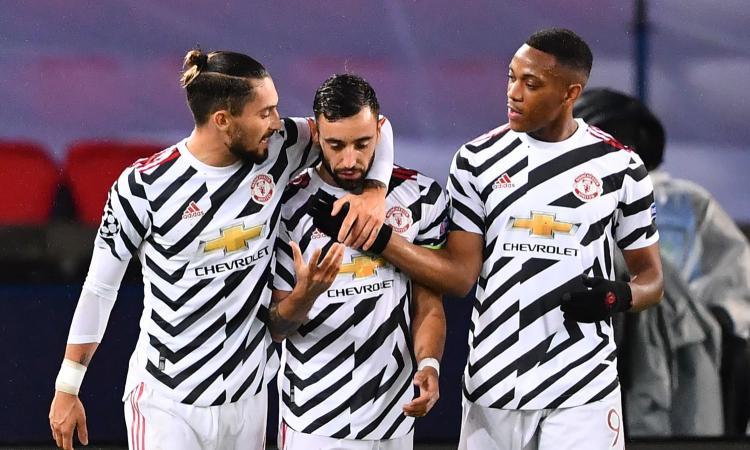 Champions: PSG-Manchester United 1-2, Chelsea-Siviglia senza gol. Pokerissimo Barcellona, vince il Lipsia