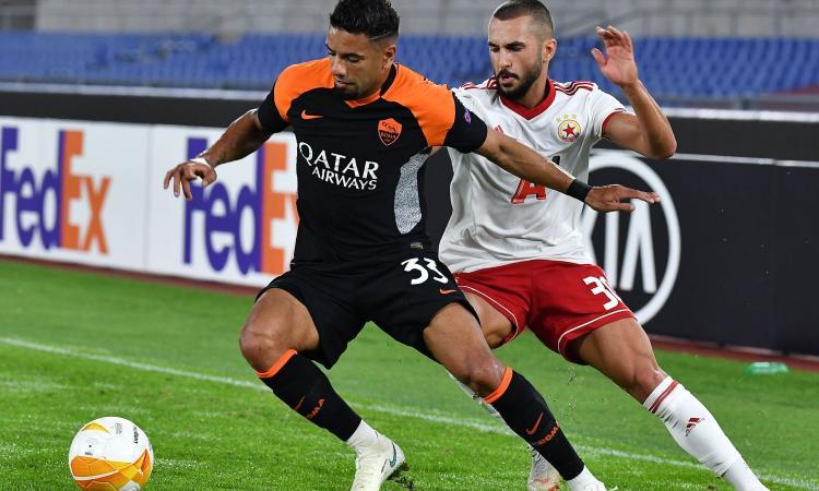 Roma, tifosi e club irritati con Bruno Peres: cos'è successo post Sassuolo